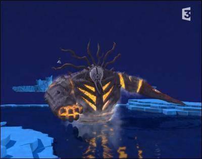 Comment se nomme ce monstre de Xana ?
