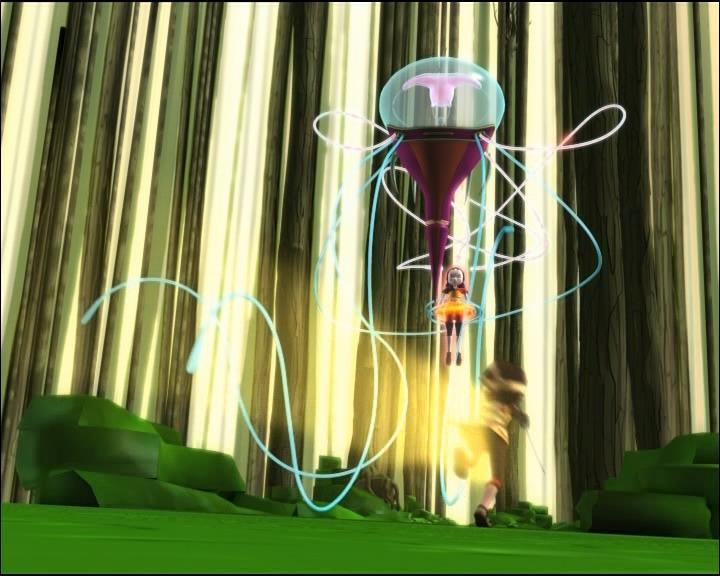 Qu'est ce qui s'est passé quand la méduse a relaché Yumi ?