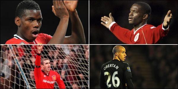 Quel joueur français porte le numéro 6 aussi bien en sélection nationale qu'avec son club le Manchester United ?