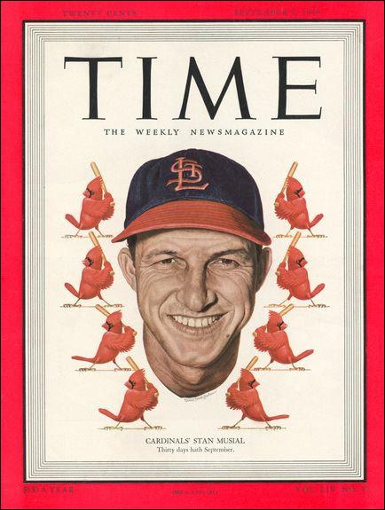 Dans quel sport s'est illustré le fameux n°6 des Cardinals de Saint-Louis, Stan Musial ?