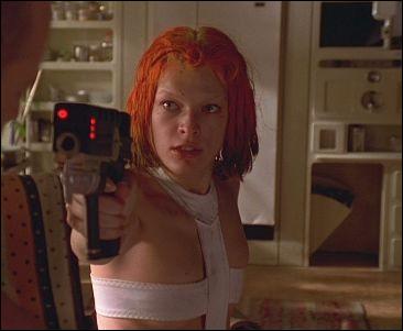 """Comment s'appelle la jeune femme rousse interprétée par Milla Jovovich dans """"Le Cinquième élément"""" ?"""