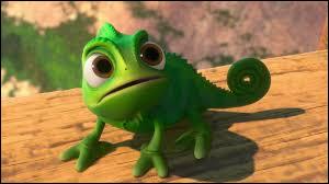 """Comment s'appelle le caméléon dans """"Raiponce"""" ?"""