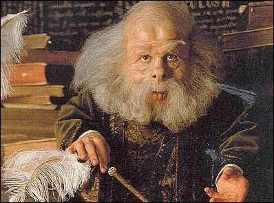"""Professeur Flitwick : """"Bien, commençons avec une question facile : quelle est la formule du sortilège de Lévitation ?""""Toi : """"Je crois que c'est ... """""""
