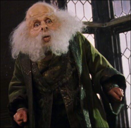 """Professeur Flitwick : """"Sais-tu quel sort Dumbledore a utilisé pour arrêter la chute de Harry lors du match de quidditch ?"""" (Harry Potter 3)Toi : """"Euh, je crois que c'est ... """""""