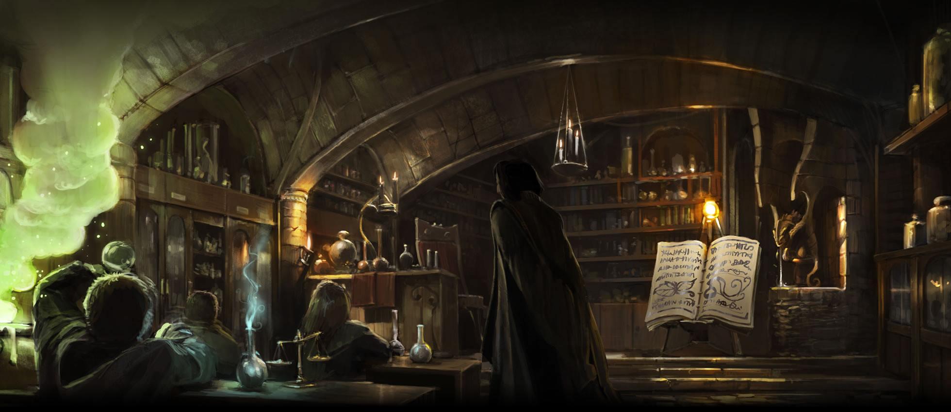 Cours de potions (Harry Potter)