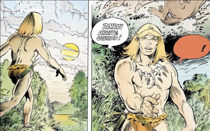 Rahan, fils des âges farouches, a lui aussi un dieu créateur : comment l'invoque-t-il ?