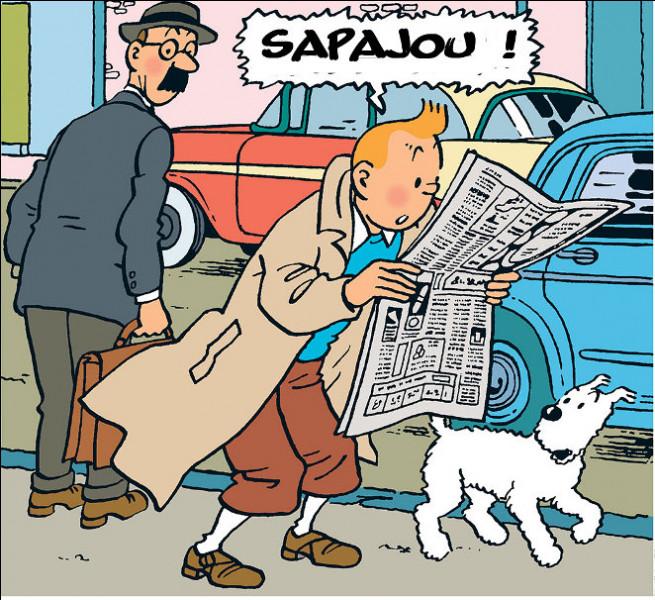 Tintin a aussi son mot à dire, particulièrement lorsqu'il est surpris. Lequel ? Et quel est le titre de son 19e album ?
