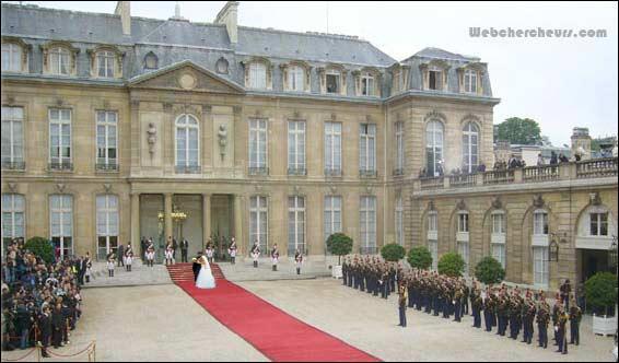 Où habite le président français de l'année 2008 ?
