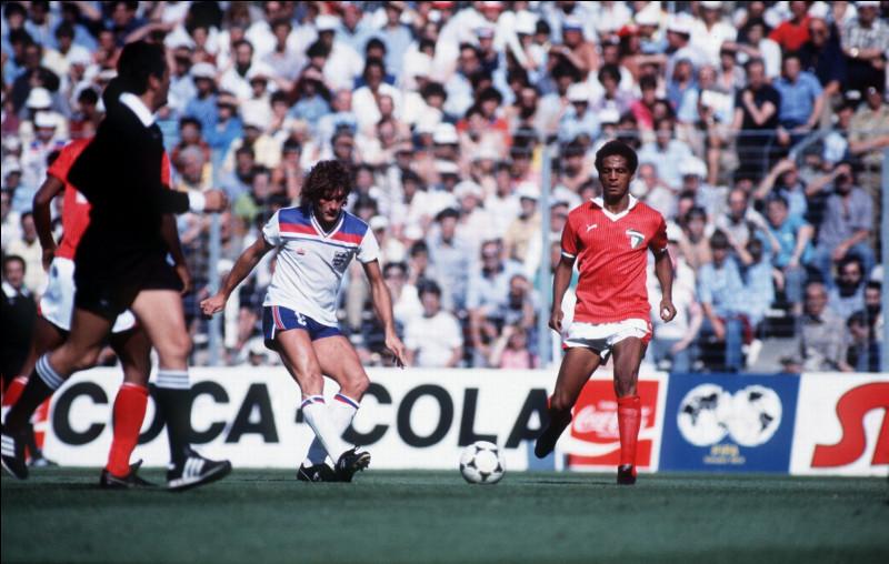 En 1982 pour son troisième et dernier match de l'histoire de Coupe du monde, sur quel score a été défaite l'équipe du Koweït face à l'Angleterre ?