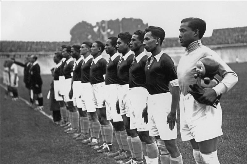 En 1938, quelle nation asiatique a participé à la Coupe du monde sous l'appellation des Indes orientales néerlandaises ?