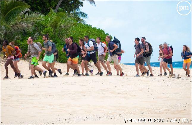 Pendant combien de jours les candidats doivent-ils survivre sur une île inhabitée ?