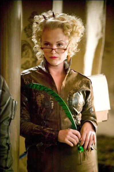 En quoi peut se transformer Rita Skeeter ?