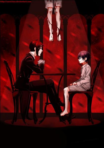 Quelles sont les conditions que Ciel impose dans son pacte avec Sebastian ?