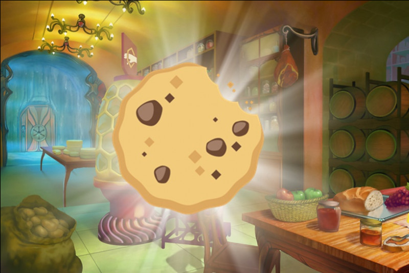 Il reste un ultime cookie sur la table : (There is one last cookie on the table : )
