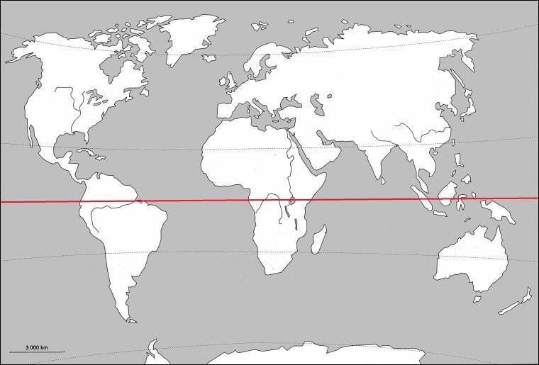 L'équateur terrestre