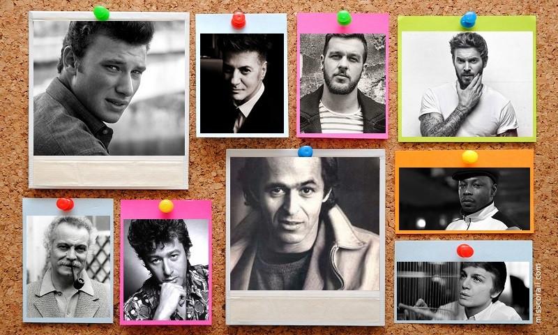 Les chanteurs francophones en images (1)