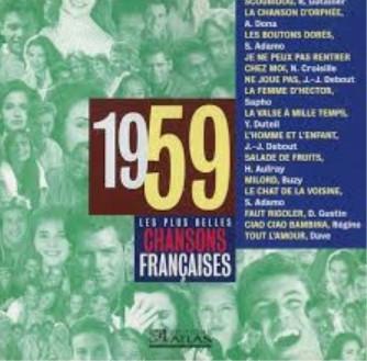 Chansons francophones de l'année 1959