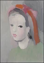 """Qui a peint """"La Fillette au ruban dans les cheveux"""" ?"""