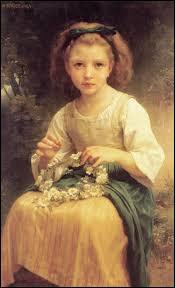 Qui a représenté cette jeune fille au ruban ?