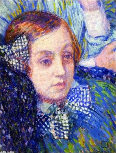 """Qui a peint """"Elisabeth avec des rubans"""" ?"""