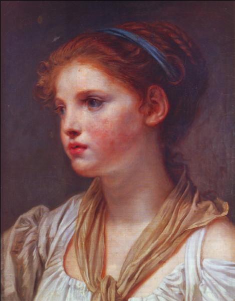 """Qui a peint """"Jeune fille au ruban"""" ?"""