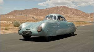 En quelle année a été créée la Porsche ?