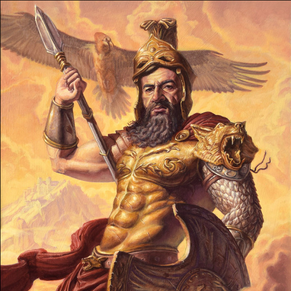 Dieu se réjouissant du sang, habité d'une fureur guerrière semant le carnage sur son passage. Qui est-il ?