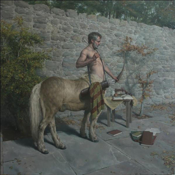 Ce bon centaure sage et instruit, fut un excellent précepteur pour de nombreux héros. Qui est-il ?