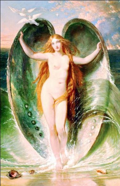 """Quelle est l'épiclèse de la déesse Aphrodite """"née de la mer"""" ?"""