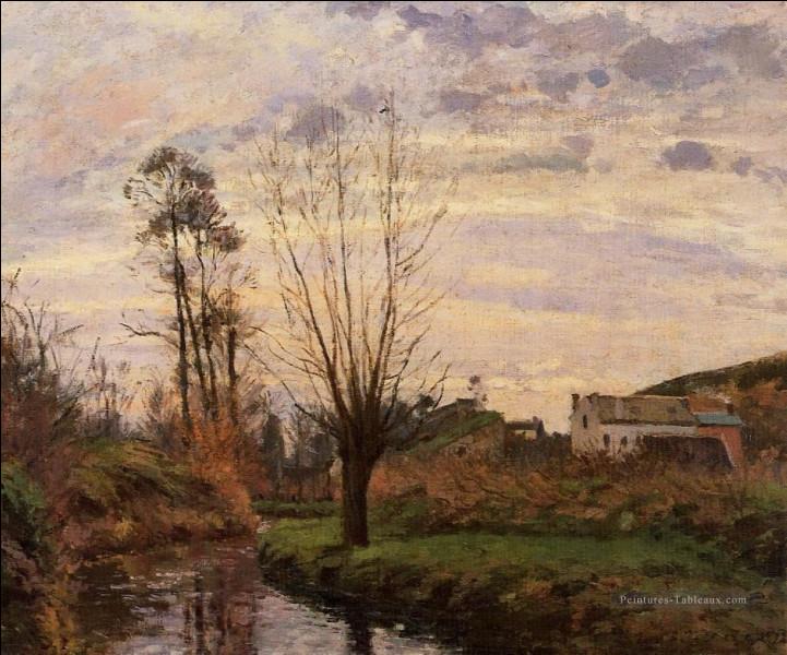 """Qui est le peintre de ce """"Paysage avec un petit ruisseau"""" ?"""