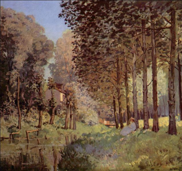 """Qui a peint """"Repos au bord du ruisseau en lisière de bois"""" ?"""