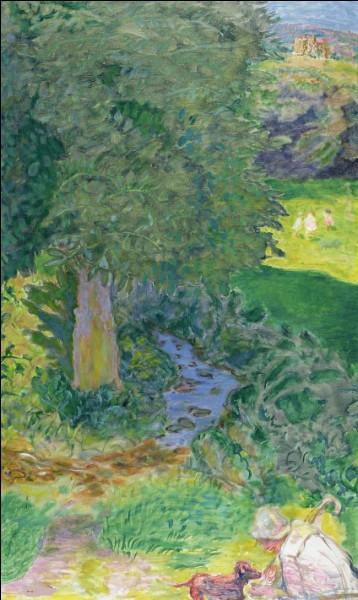 "Qui a peint ""Le Ruisseau"" ?"