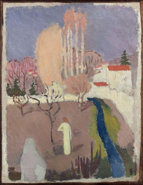 """Qui a peint """"Noli me Tangere au ruisseau bleu ?"""