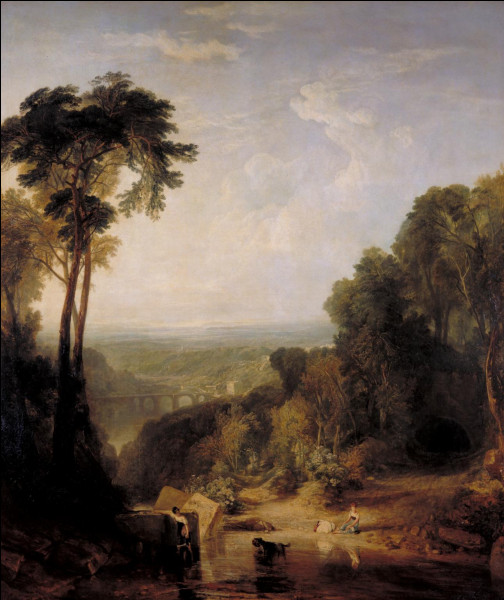 """Qui a peint """"La traversée du ruisseau"""" ?"""