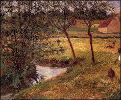 """À qui est le tableau intitulé """"Ruisseau, Osny"""" ?"""