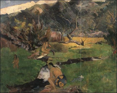 """Qui a représenté ces """"Tahitiennes près d'un ruisseau"""" ?"""