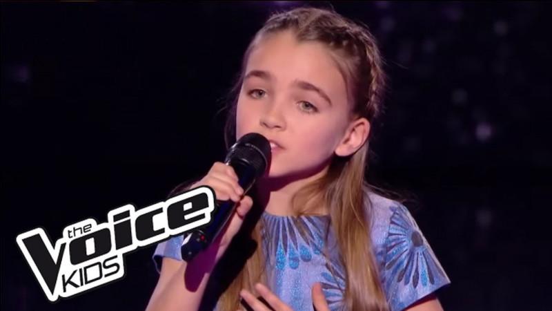 """À quelle saison de """"The Voice Kids"""" a-t-elle participé ?"""