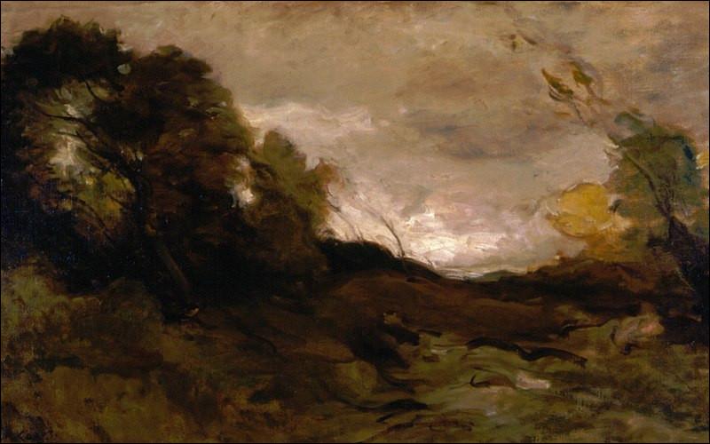 """Qui est le peintre de """"La Vallée solitaire"""" ?"""