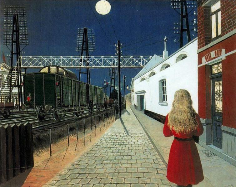 """Son tableau s'intitule """"Solitude"""" :"""