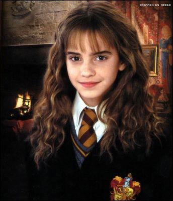 De quelle couleur sont les yeux d'Hermione Granger quand elle est transformée en chat ?