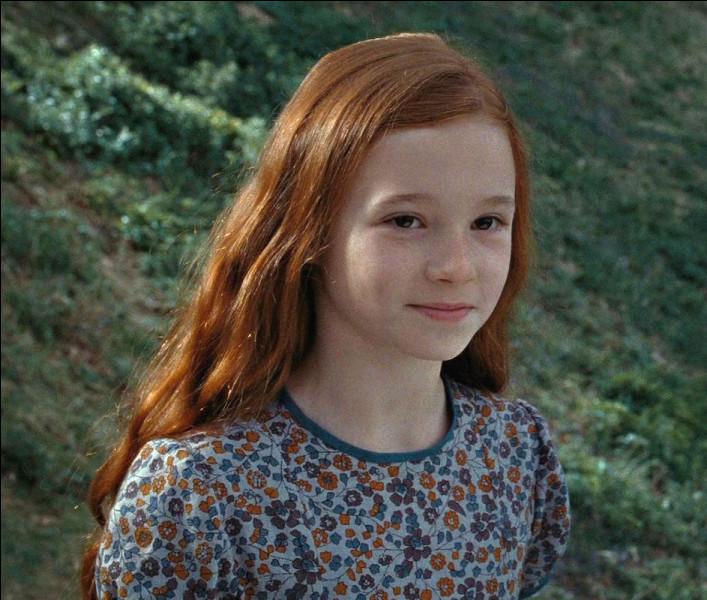 Quel est le nom de jeune fille de Lily Potter ?