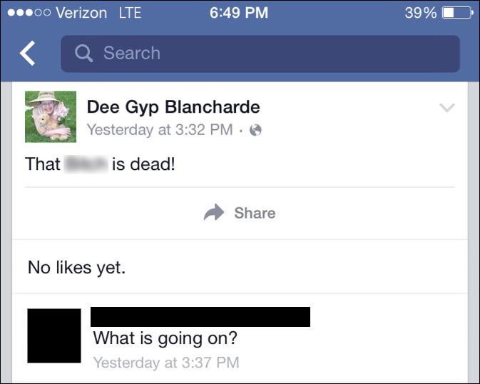 Dee Dee Blanchard est assassinée à l'âge de 48 ans. Elle faisait souffrir à sa fille le syndrome de Münchhausen. Qu'est-ce que cela signifie ?
