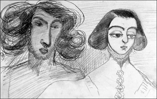Quel poète et homme de lettre français avait écrit « On ne badine pas avec l'amour » après sa rupture avec G. Sand ?