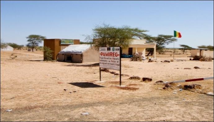 Avec quel pays, le Mali partage-t-il sa frontière au nord ?