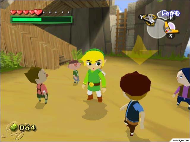 Comment s'appellent ces enfants qui entoure Link ?