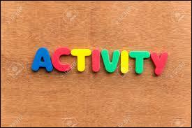 Laquelle de ces activités préfères-tu ?