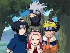 Qui sont les co-équipiers de Naruto ?
