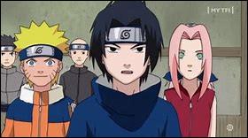 Quel est le numéro de l'équipe de Naruto ?