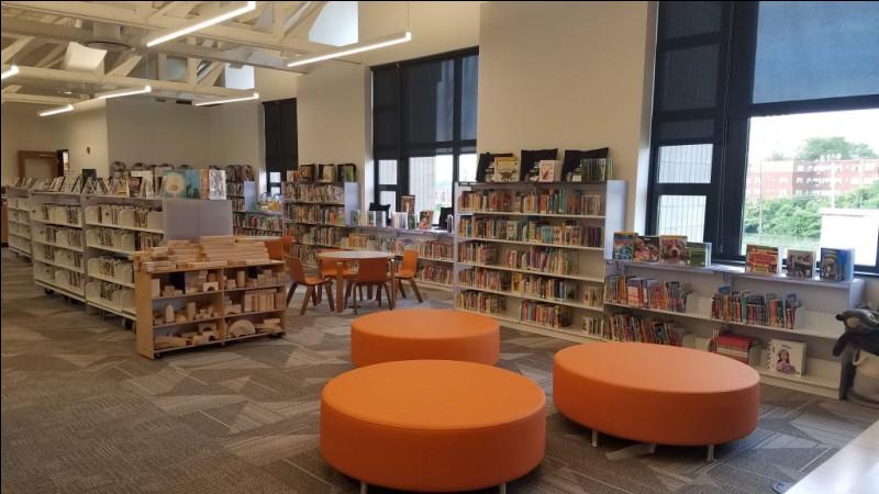 Dans cet espace, les personnes qui sont accueillis peuvent lire dans un calme absolu. Ceci est un(e)...