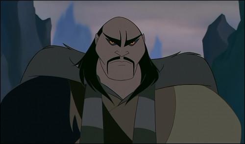 Comment s'appelle ce méchant n'ayant aucun sentiment humain et qui est le grand chef de l'armée des Huns ?